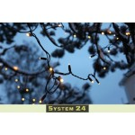 Āra LED Virtenes Dārzam Ballītēm Ziemassvētkiem SYSTEM 24