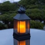 Dekoratīvās Laternas ar LED Svecēm