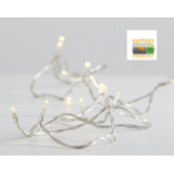 LED virtenes uz baterijām