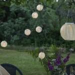 LED Virtenes uz Saules Baterijām