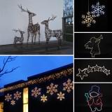 Ziemassvētku Gaismu Dekorācijas