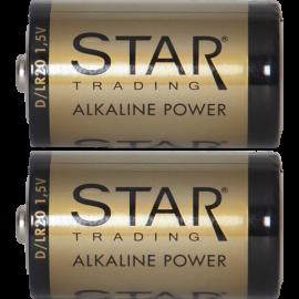 Battery D 1,5V Power Alkaline 064-33