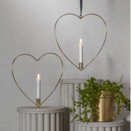 Indoor Decoration Flamme Heart 063-69