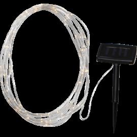 Lampiņu virtene uz saules baterijām 75 LED 1W 750cm Tube 480-20