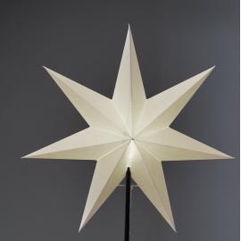Papīra zvaigzne balta 54x54cm Frozen 231-94