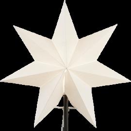 Papīra zvaigzne balta 34x34cm Frozen 231-99