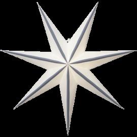 Papīra zvaigzne karināma balta 75x75cm Randi 501-30
