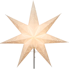 Papīra zvaigzne balta 54x54cm Sensy 231-29