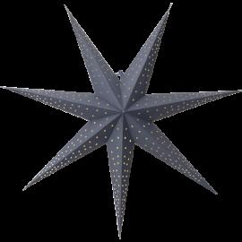 Papīra zvaigzne karināma zila 60x60cm Point 501-51