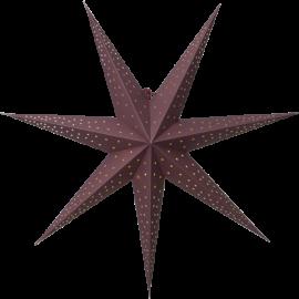 Papīra zvaigzne karināma sarkana 60x60cm Point 501-52