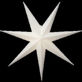 Papīra zvaigzne karināma balta 80x80cm Point 501-53