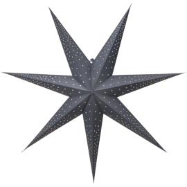 Papīra zvaigzne karināma zila 80x80cm Point 501-54