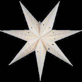 Papīra zvaigzne karināma balta 80x80cm Lace 501-21