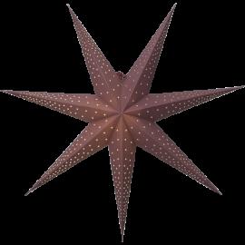Papīra zvaigzne karināma sarkana 80x80cm Point 501-55