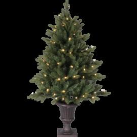 LED Ziemassvētku dekoratīvā eglīte ar lampiņām 2,4W 80x120cm Byske 606-80