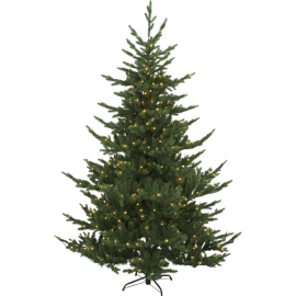 LED Ziemassvētku dekoratīvā eglīte ar lampiņām 8,4W 150x210cm Brekstad 608-55