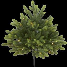 LED Ziemassvētku dekoratīvā eglīte ar lampiņām 0,3W 80x75cm Busk 606-88