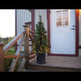 LED Ziemassvētku dekoratīvā eglīte ar lampiņām 2,4W 50x120cm Hytte 606-89