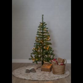 LED Ziemassvētku dekoratīvā eglīte ar lampiņām 1,24W 72x150cm Alvik 609-24