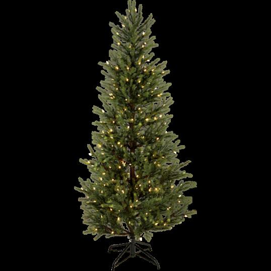 LED Ziemassvētku dekoratīvā eglīte ar lampiņam 6W 96x200cm Malung 606-33
