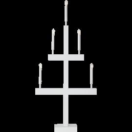 LED Koka svečturis uz statīva balts 2W 55x118cm Storm 644-35
