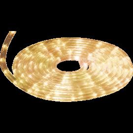 Lampiņu virtene caurspīdīga 216 LED 81W 600x1,25cm Ropelight micro 556-55