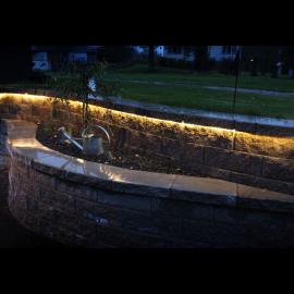 Lampiņu virtene balta 1800 LED 2800K 240W 3000x0,9cm Neoled reel 563-10
