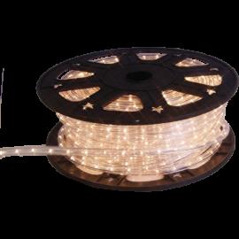 Lampiņu virtene lente caurspīdīga 1620 LED 607,5W 4500cm Ropelight reel 564-01