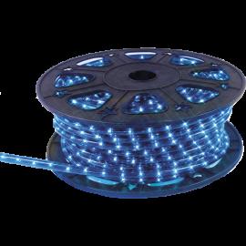 Lampiņu virtene lente zila 1620 LED 607,5W 4500cm Ropelight reel 564-03