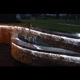 Starta Kabelis Kontaktdakša Caurspīdīga 600cm 216 LED Lampiņas 562-02 562-02