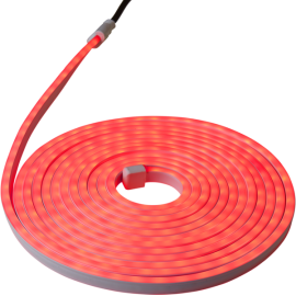 Lampiņu virtene lente sarkana 360 LED 24W 600x0,7cm 563-22
