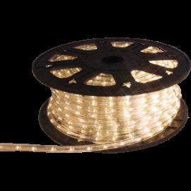 Lampiņu virtene lente caurspīdīga 1620 LED 135W 4500cm Ropelight reel 565-01