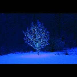 LED Diožu Virtene Melna 500cm 50 LED Lampiņas 484-01-49