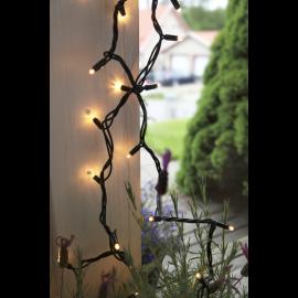 LED Diožu Virtene Melna 1000cm 100 LED Lampiņas 484-02