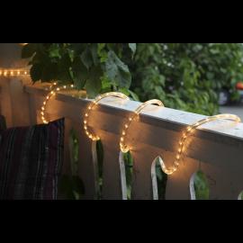 LED Diožu Virtene Caurspīdīga 1000cm 360 LED Lampiņas 484-80