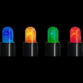 LED Diožu Virtene Melna 1000cm 100 LED Lampiņas 484-12-80