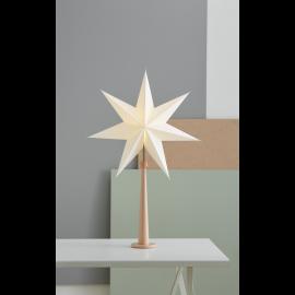 Dekoratīvā Elektriskā Zvaigzne uz Statīva Paint Nude 243-22