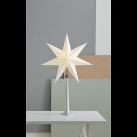 Dekoratīvā Elektriskā Zvaigzne uz Statīva Paint Stone 243-21