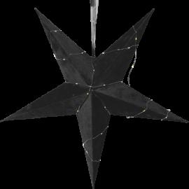 Papīra samta zvaigzne melna 501-65