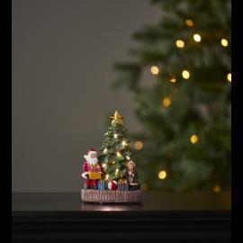 LED Ziemassvētku gaismas dekors uz baterijām AAA 10x15cm Kidsville 992-46