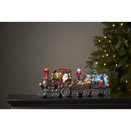 LED Ziemassvētku gaismas dekors uz baterijām AA 2,5W 52x20cm Largeville 680-78