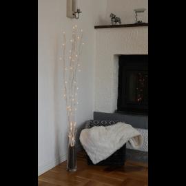 Gaismas dekors koks ar LED lampiņām balts 1,8W 10x115cm Willow 584-03