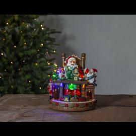 LED Ziemassvētku gaismas dekors uz baterijām AA 3,6W 24x25cm Merryville 992-39