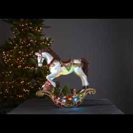 LED Ziemassvētku gaismas dekors uz baterijām AA 3,6W 44x45cm Swing 680-79