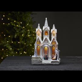 LED Ziemassvētku gaismas dekors balts 3,6W 23x37cm Salisbury 680-84