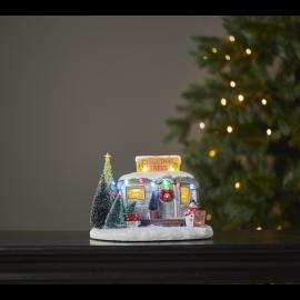 LED Ziemassvētku gaismas dekors uz baterijām AA 25x17cm Merryville 992-43