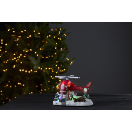 LED Ziemassvētku gaismas dekors uz baterijām 0,3W 21x14cm Merryville 992-29