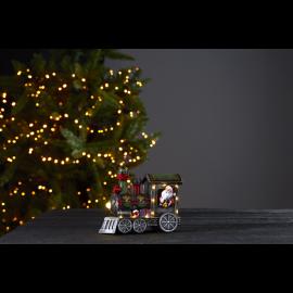 LED Ziemassvētku gaismas dekors uz baterijām 0,33W 18x14cm Loke 992-30