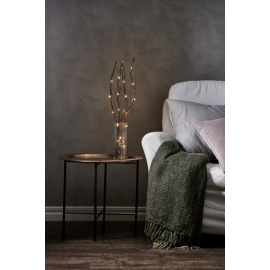 Gaismas dekors koks ar LED lampiņām brūns 1,44W 8x60cm Willow dewdrop 584-33