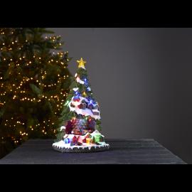 LED Ziemassvētku gaismas dekors uz baterijām AA 3,6W 27x45 Largeville 680-89